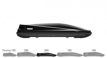 THULE 투어링600 블랙유광